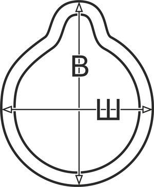 Маска Free-Breath №1 с клапаном (KRT-F-I) для спейсера (фото, вид 1)