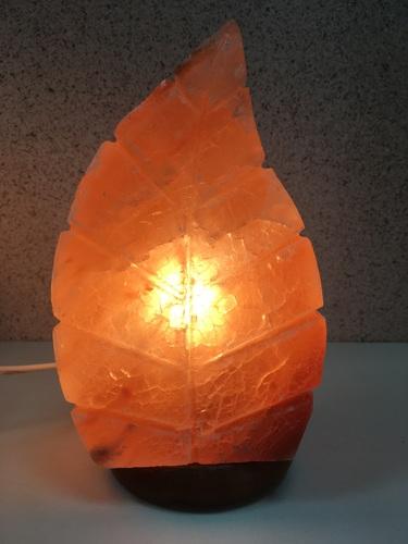 Велес Солевая лампа Листик (фото, вид 1)