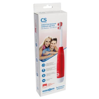 OMRON Электрическая зубная щетка CS Medica CS-465-W (фото, вид 1)