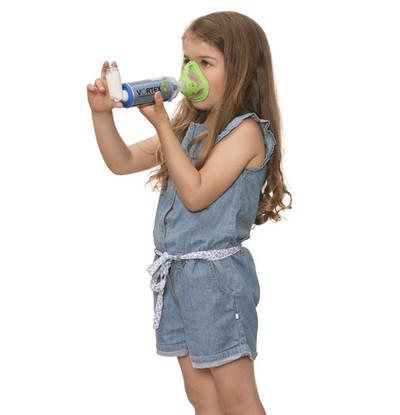 PARI Спейсер VORTEX с маской для детей с 2 лет (фото, вид 1)