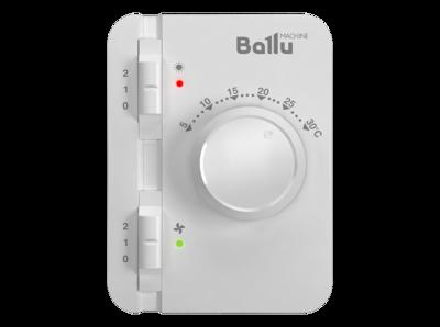 Ballu BHC-L10-S06-М (BRC-E) Электрическая тепловая завеса (серебристый металлик) (фото, вид 1)