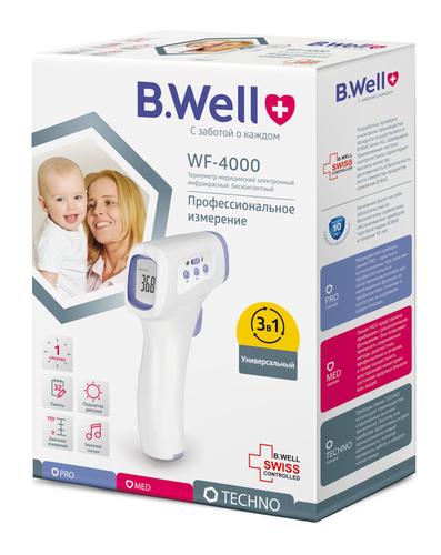 B.Well WF-4000 Бесконтактный инфракрасный термометр (фото, вид 1)