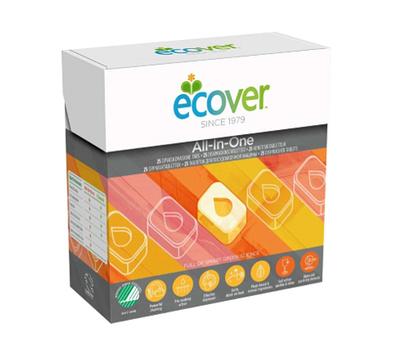 Ecover Таблетки для посудомоечной машины 3в1 25шт (фото, Старый дизайн)