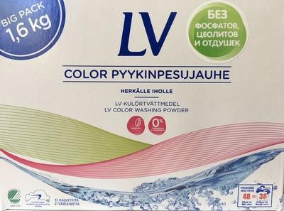 LV Color Стиральный микропорошок 1.6кг (фото, вид 1)