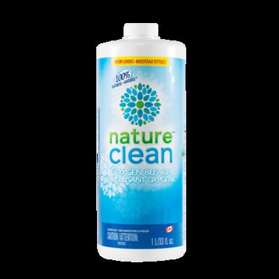 Nature Clean Кислородный жидкий пятновыводитель нейтральный 1л (фото, вид 1)