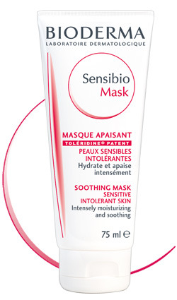 Bioderma Сенсибио Успокаивающая маска 75мл