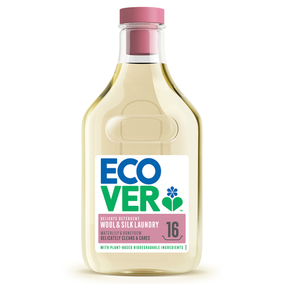 Ecover Экологическая жидкость для стирки шерсти и шелка 750мл (16 стирок) (фото)
