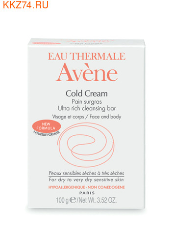 Avene Сверхпитательное мыло с колд-кремом 100гр