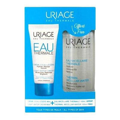 Uriage Набор Очищение и увлажнение для нормальной и комбинированной кожи (2 средства)