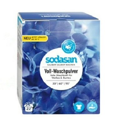 Ecover Экологический стиральный порошок-концентрат, ZERO NON BIO Универсальный, 750гр