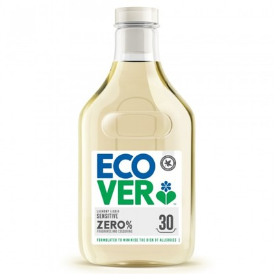 Ecover ZERO Концентрированная жидкость для стирки 30 стирок 1.5л (фото)