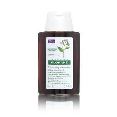KLORANE Шампунь укрепляющий с экстрактом хинина и витаминами B 100мл