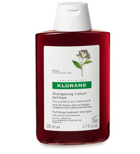 KLORANE Шампунь укрепляющий с экстрактом хинина и витаминами B 200мл