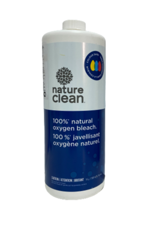 Nature Clean Кислородный жидкий пятновыводитель нейтральный 1л (фото)