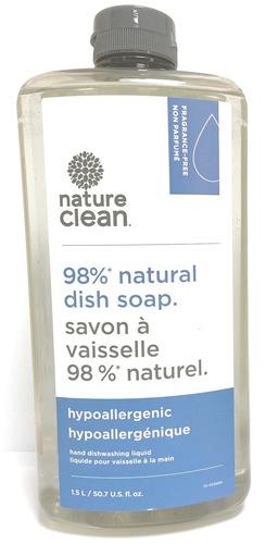 Nature Clean Жид-ть д/мытья посуды нейтральная, 1500 мл