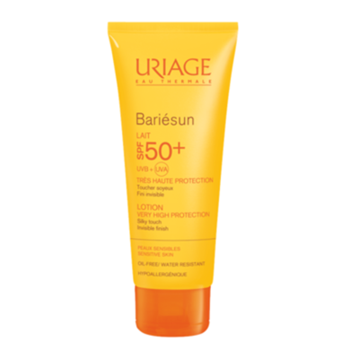 Uriage Барьесан Молочко солнцезащитное SPF50+ 100мл