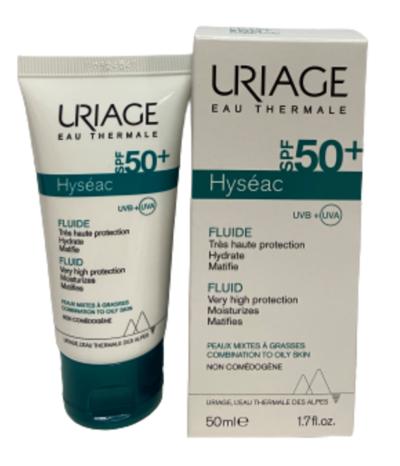 Uriage Солнцезащитная эмульсия SPF50+ ИСЕАК® 50мл