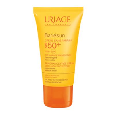 Uriage Барьесан Крем солнцезащитный без ароматизаторов SPF50+ 50мл