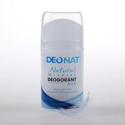 DEONAT Минеральный цельный дезодорант выдвигающийся 100гр