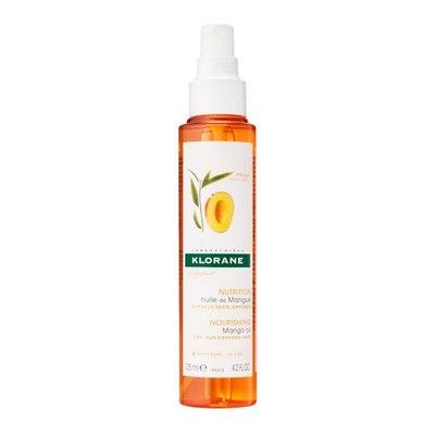 KLORANE Масло Манго с UV фильтром для сухих и поврежденных волос 150мл