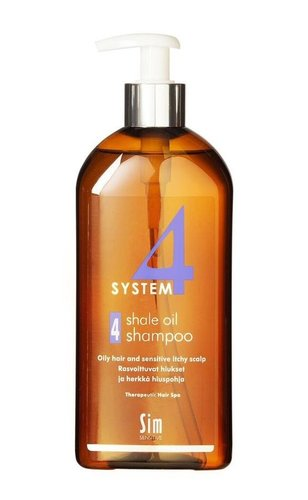 System4 Терапевтический шампунь №4/Shale Oil Shampoo №4 500мл