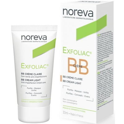 Noreva Эксфолиак ВВ Крем тональный для проблемной кожи (светлый) 30мл