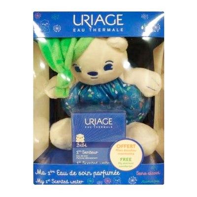 Uriage Бебе НАБОР Первая парфюмированная Вода 50мл + игрушка Мармот