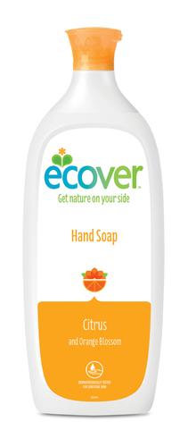 Ecover Жидкое мыло для мытья рук Цитрус, 1л