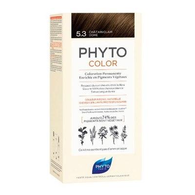 PHYTO Фитоколор Краска для волос 5.3 (Светлый золотистый шатен)