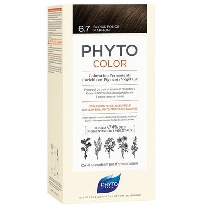 PHYTO Фитоколор Краска для волос 6.7 (Темный шоколадный блонд)