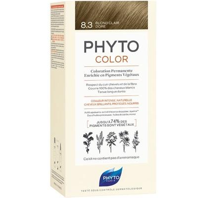 PHYTO Фитоколор Краска для волос 8.3 (Светлый Золотистый блонд)