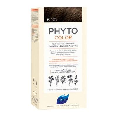 PHYTO Фитоколор Краска для волос 6 (Темный блонд)