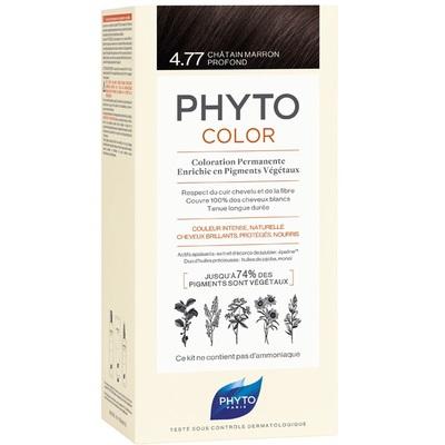 PHYTO Фитоколор Краска для волос 4.77 (Насыщенный глубокий каштан)