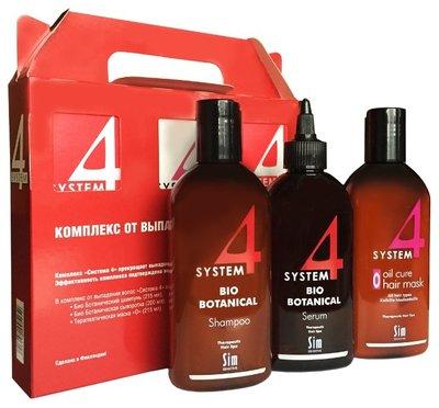 System4 Комплекс от выпадения волос 3х100мл