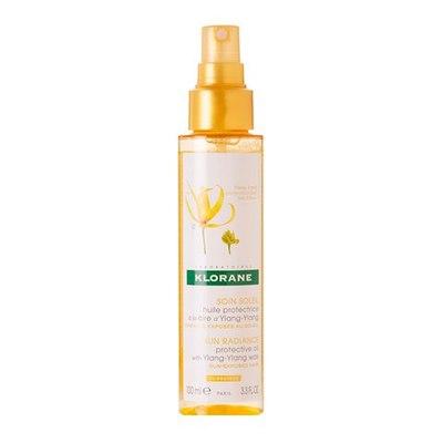 KLORANE Масло для волос солнцезащитное с воском Иланг-Иланг 100мл