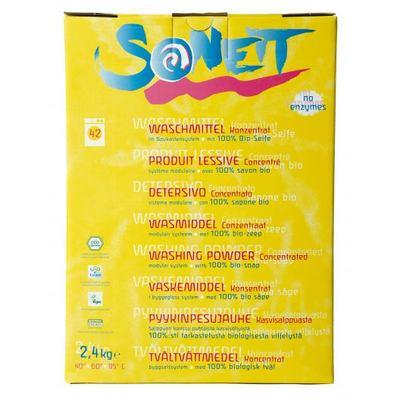Sonett Стиральный порошок 2.4кг