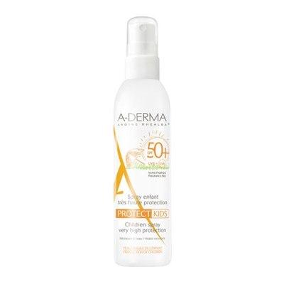 A-Derma Протект Спрей детский солнцезащитный SPF50+ 200мл