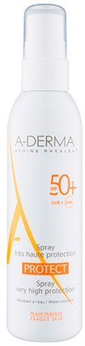 A-Derma Cолнцезащитный спрей SPF50+ 200мл