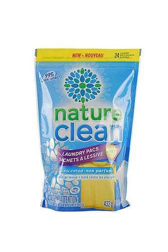 Nature Clean Капсулы для стирки 24шт