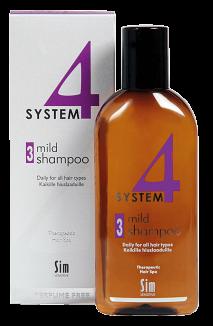 System4 Терапевтический шампунь №3/Climbazole Shampoo №3 100мл