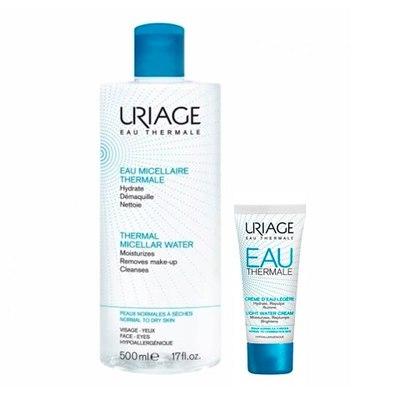 Uriage НАБОР Очищение и увлажнение для нормальной кожи (2 средства)