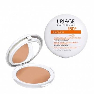Uriage Барьесан Крем-Пудра минеральная тональная SPF50+ (золотистый) 10г