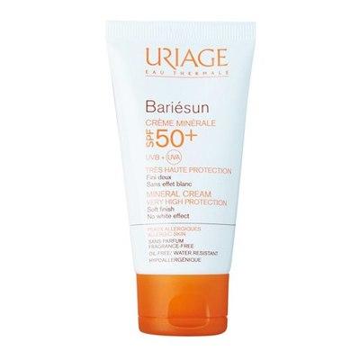 Uriage Барьесан SPF50+ Крем минеральный 50мл