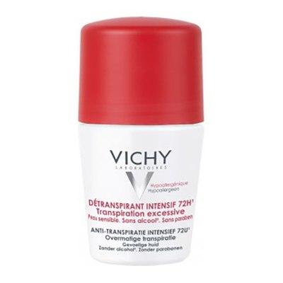 VICHY Дезодорант шариковый Анти-стресс от избыточного потоотделения 72ч