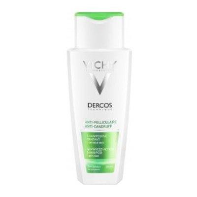 VICHY Деркос Интенсивный шампунь-уход против перхоти для чувствительной кожи головы 200мл