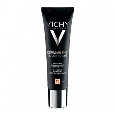 VICHY Дермабленд 3D Тональная основа для жирной и проблемной кожи (тон 15) 30мл