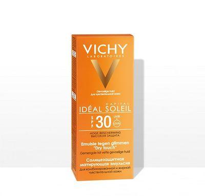 VICHY Солнцезащитная матирующая эмульсия для лица SPF30+ 50мл