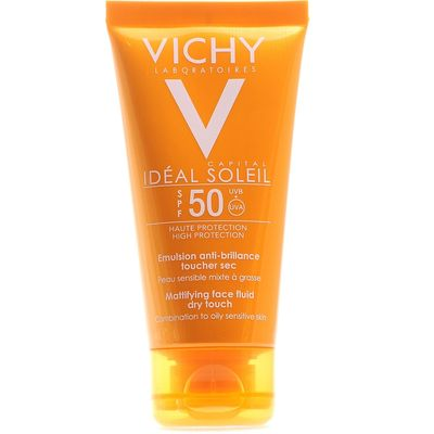 VICHY Солнцезащитная матирующая эмульсия для лица SPF50+ 50мл