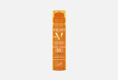 VICHY Освежающий спрей-вуаль для лица SPF50 75мл