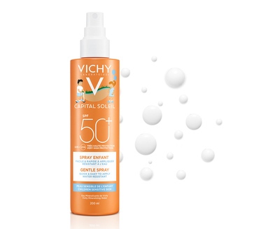 VICHY Солнцезащитный спрей для детей SPF50+ 200мл